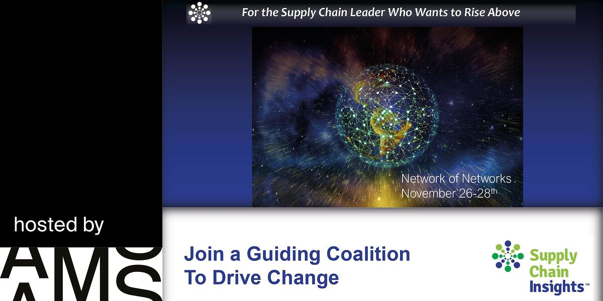 supply chain event banner