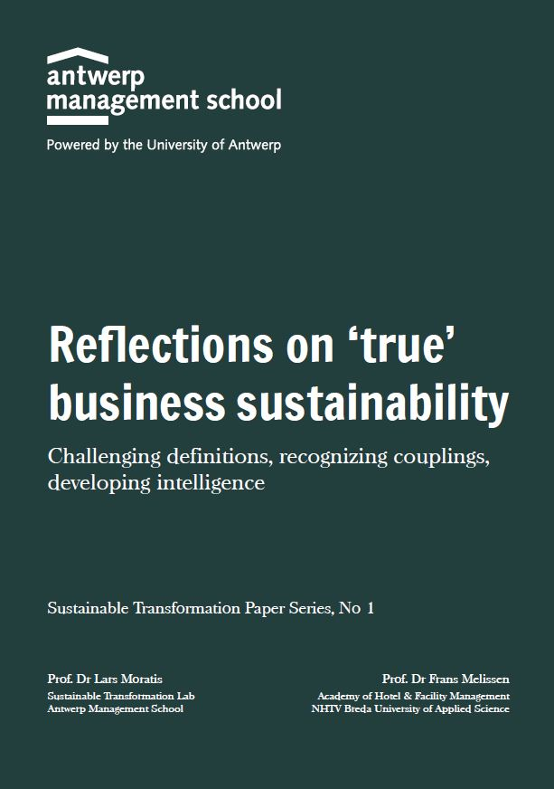 Reflections on 'true' business sustainability