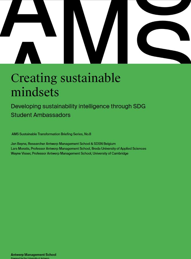 Creating sustainable mindsets