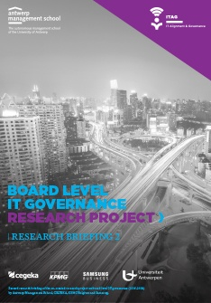 Board level IT governance – Onderzoeksbriefing 2