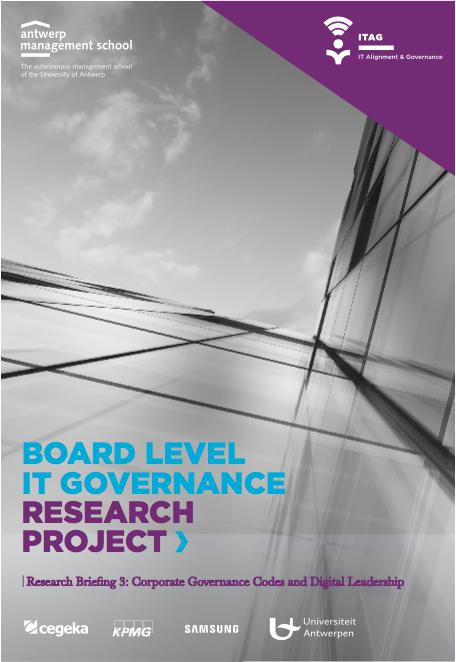 Board level IT governance – Onderzoeksbriefing 3