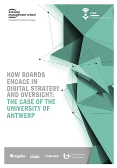 How boards engage in digital strategy and oversight - the case of the University of Antwerp