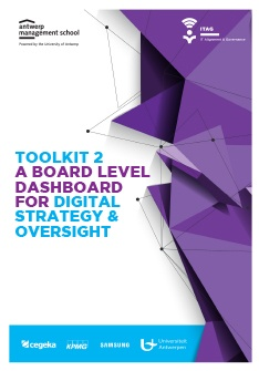 Toolkit 2 - a board level dashboard for digital strategy & oversight