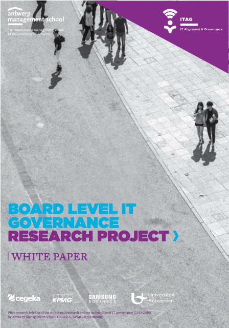 Board level IT governance - Onderzoeksbriefing 1