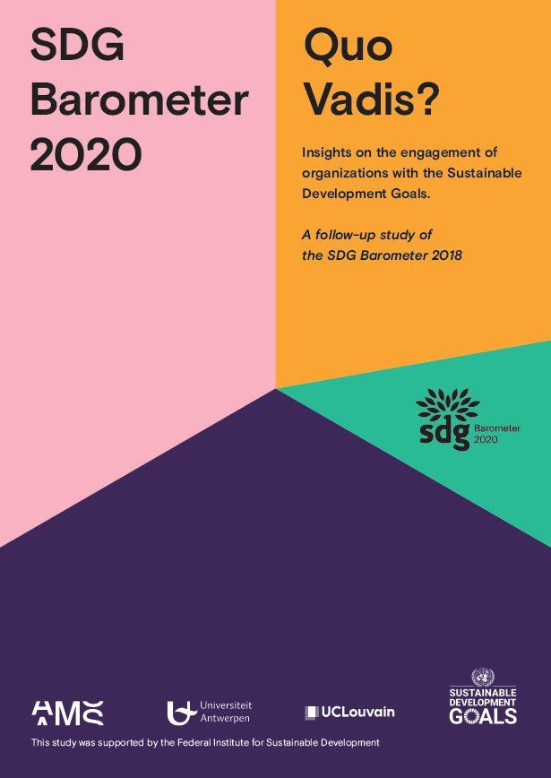SDG Barometer 2020