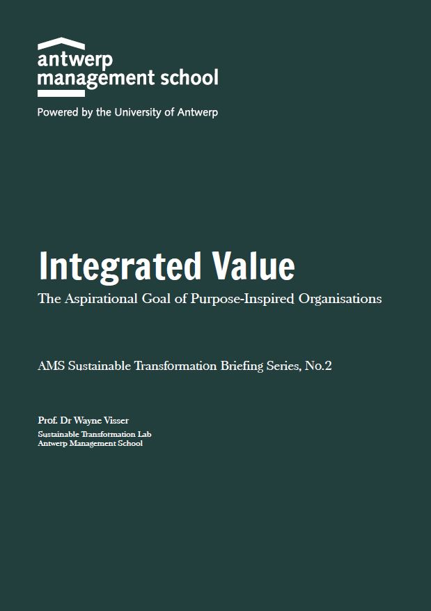 Integrated Value - The Aspirational Goal of Purpose-Inspired Organisations